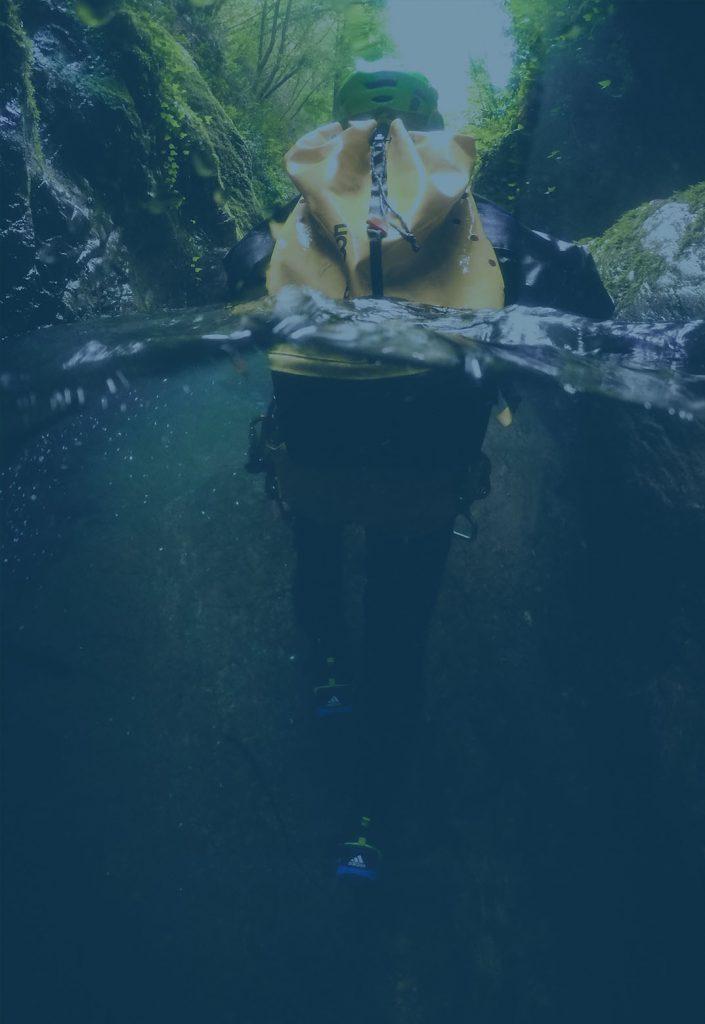 Canyoning toscana, rio selvano