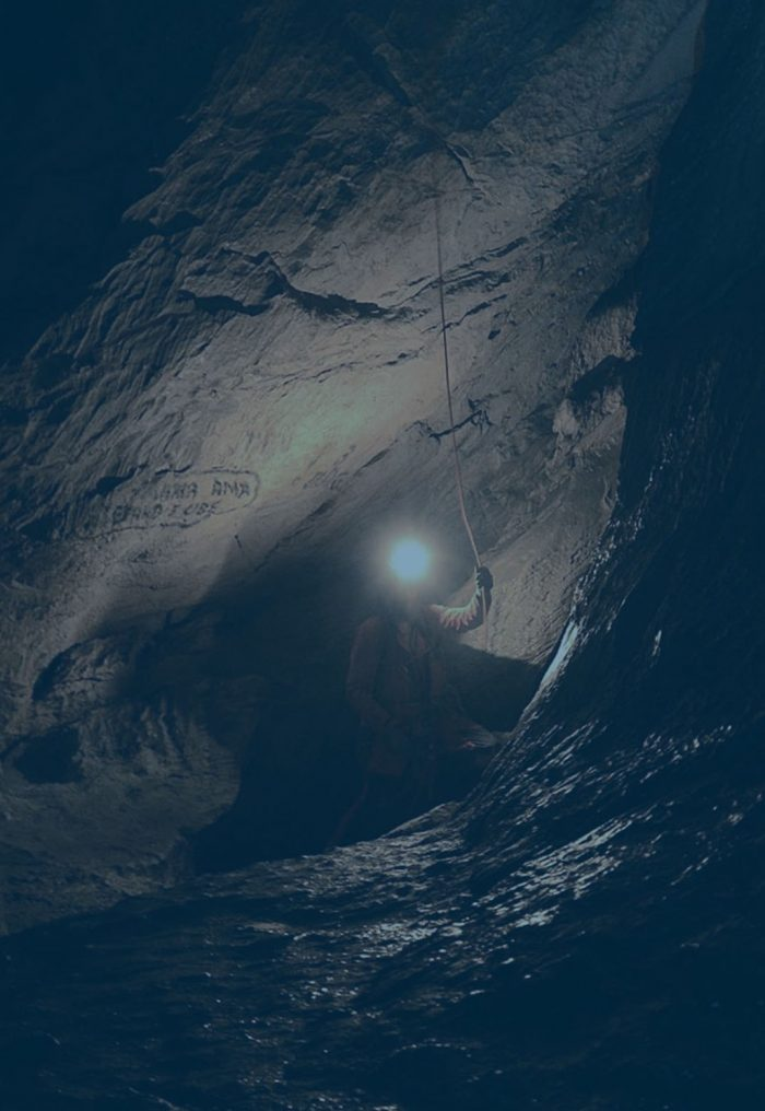 Speleo canyoning