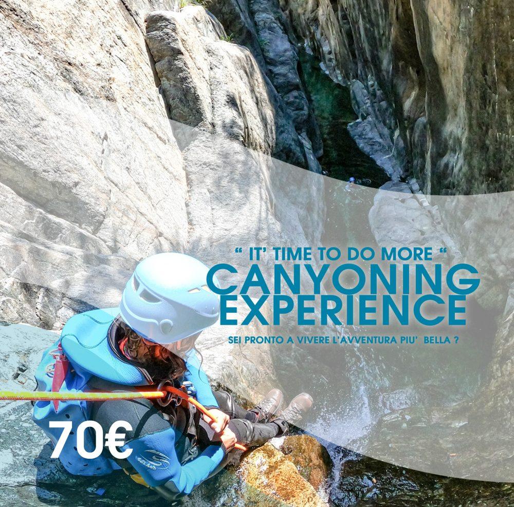canyoning Liguria