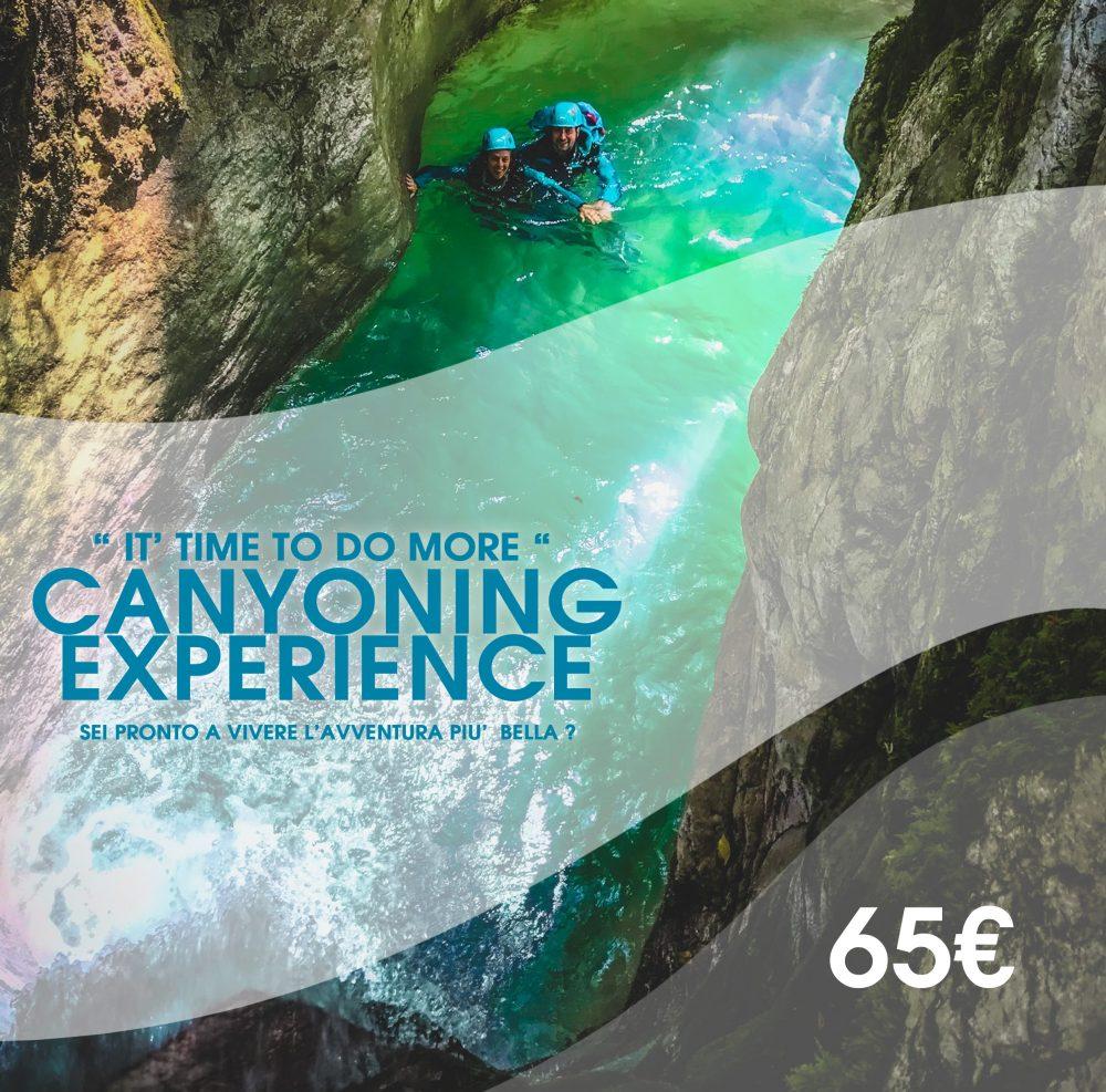 canyoning toscana Rio Selvano